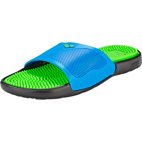 arena Marco X Grip Hook Sandals solid lime-turquoise